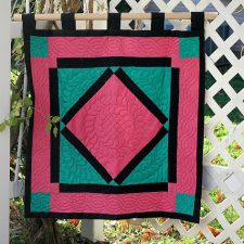 Amish Inspired Quilted Wall Hanging