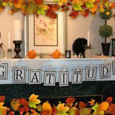 Thanksgiving Gratitude Banner