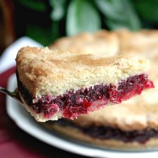 Not-Just-for Thanksgiving Cranberry Shortbread