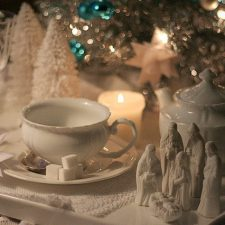 Winter White, Christmas Home Tour & Christmas Tree Party