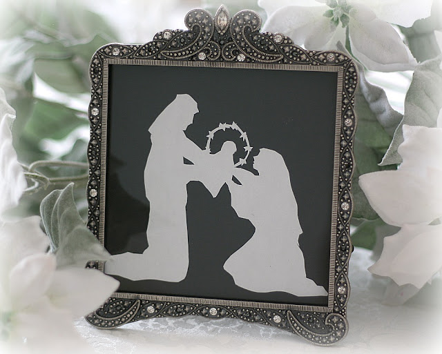 Scherenschnitte is the German Art of Paper Cutting. Common forms include silhouettes, valentines, and love letters. The art tradition was founded in Switzerland and Germany in the 16th century.
