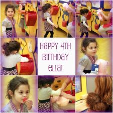 Happy Birthday, Ella Grace!