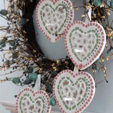 Mosaic Hearts for Grandchildren