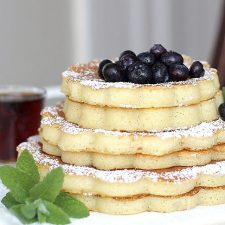 Stacked Buttermilk Pancakes
