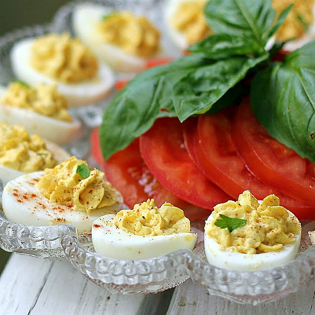Classic recipe for Deviled eggs. The perfect appetizer and side for cookouts and barbecues.