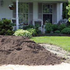 Busy Days Creating a New Garden Berm