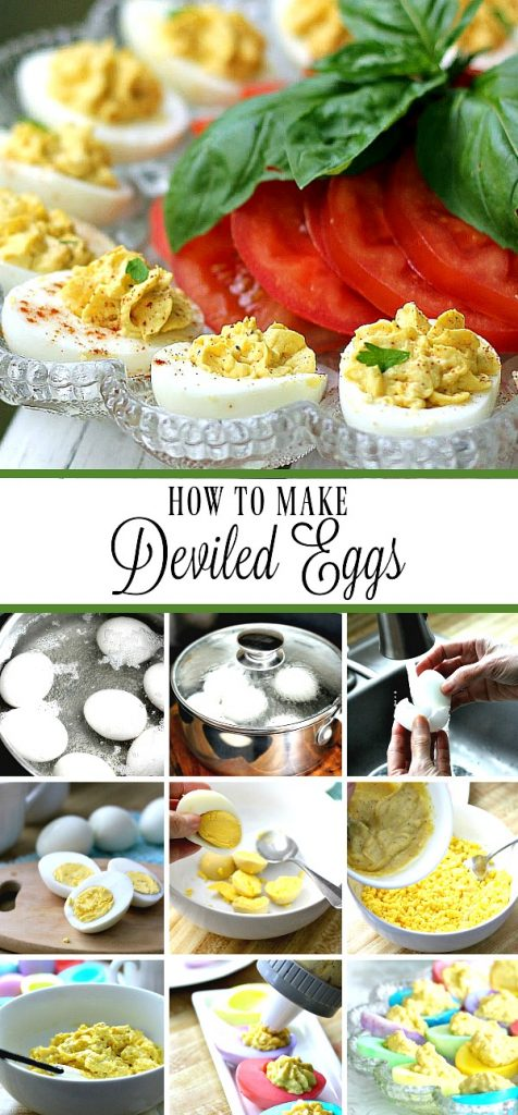 A classic recipe for deviled eggs is easy, delicious and a favorite at backyard cookouts and barbecues. Inexpensive appetizer that everyone loves!