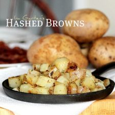 Hashed Browns Potatoes