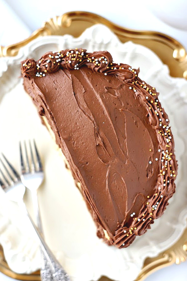 Homemade chocolate frosting using cocoa powder is dark, creamy and a delicious birthday cake or cupcake icing. Quick and easy recipe that is the best!