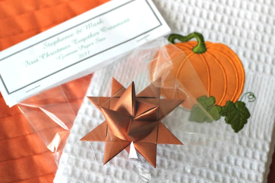 Paper folded German stars are easy to make with this step-by-step video tutorial. Also called Frobel or Moravian stars, they are lovely wedding and bridals shower favors too!