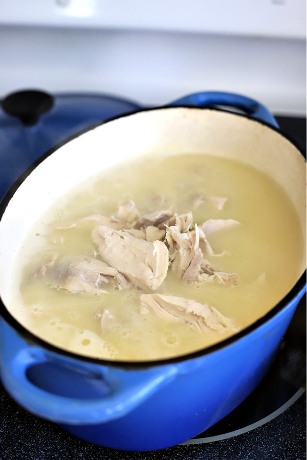 How to make chicken and dumplings recipe.