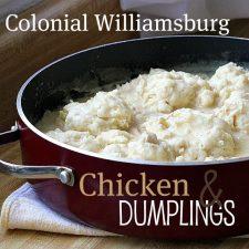 Williamsburg Inn Chicken & Dumplings