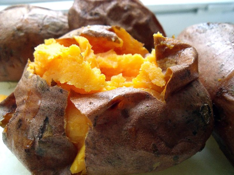 Orange Whipped Sweet Potatoes are a delicious side dish for poultry, pork or beef. Flavored with orange juice, brown sugar and a hint of nutmeg.