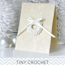 Crochet Wreath Tags