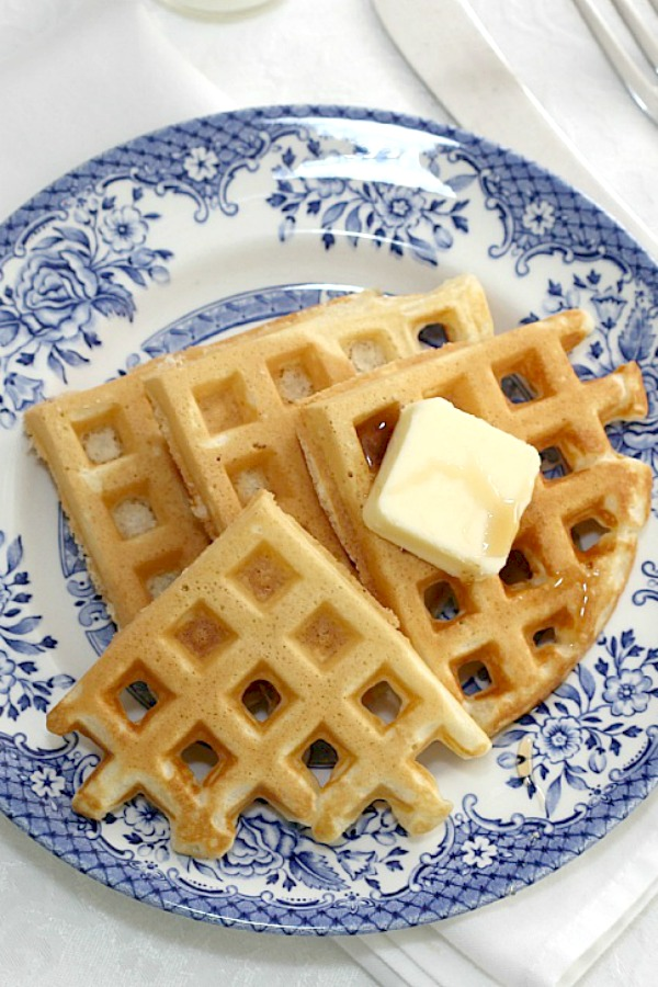 How to make homemade waffles