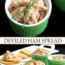 Deviled Ham Spread for Sandwiches or with Crackers