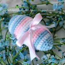 Finished Tutorial for Crochet Easter Egg