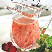 Cranberry Orange Salad Dressing