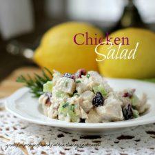 Chicken Salad Crescent Rolls