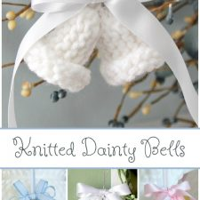 Aunt Marie's Knitted Dainty Bells