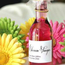 Herb Chive Blossom Vinegar