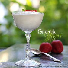 Homemade Greek Yogurt