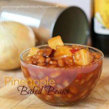 Pineapple Baked Beans