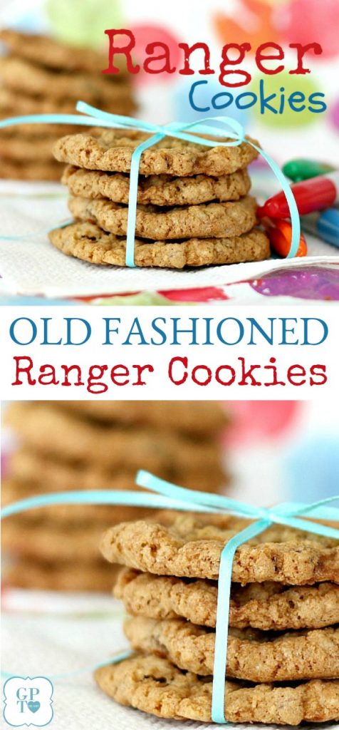 Hearty and satisfying cookies made with oatmeal, coconut and cereal that kids of all ages will love. Toss in some chocolate chips if you want and serve with a glass of milk.