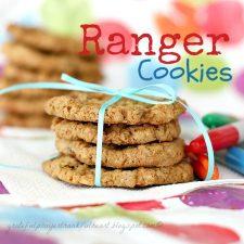 Ranger Cookies for Back-to-School