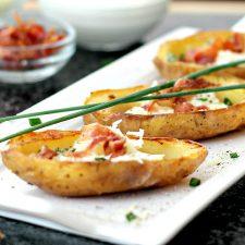Oven-Crisped Potato Skins