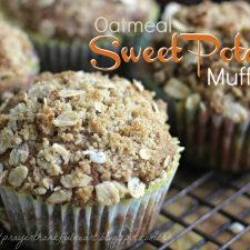Oatmeal Sweet Potato Muffins
