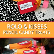 Real Knowledge for Back to School and a Cute Rolo Candy Pencil Craft