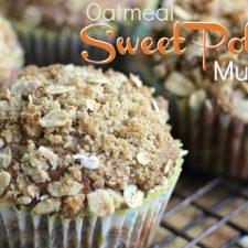Oatmeal Sweet Potato Muffins