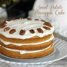 Sweet Potato Pineapple Cake