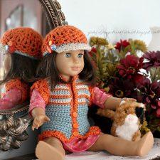 American Girl Crochet Pattern for dolls