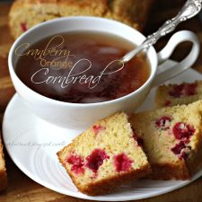 Cranberry Orange Cornbread
