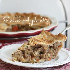 Heartland Pork and Apple Pie