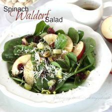 Spinach Waldorf Salad
