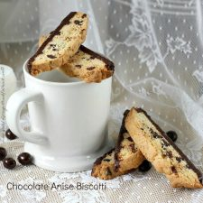 Chocolate Anise Biscotti