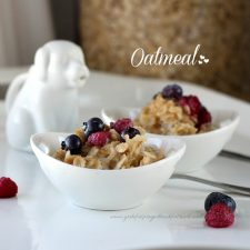 warm your soul with… Oatmeal