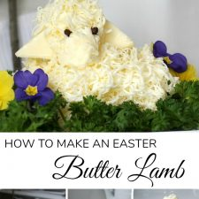 Easter Butter Lamb