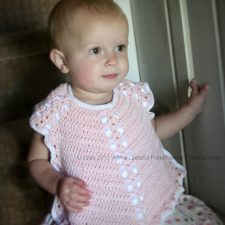 Crochet Baby Bib from Vintage Pattern