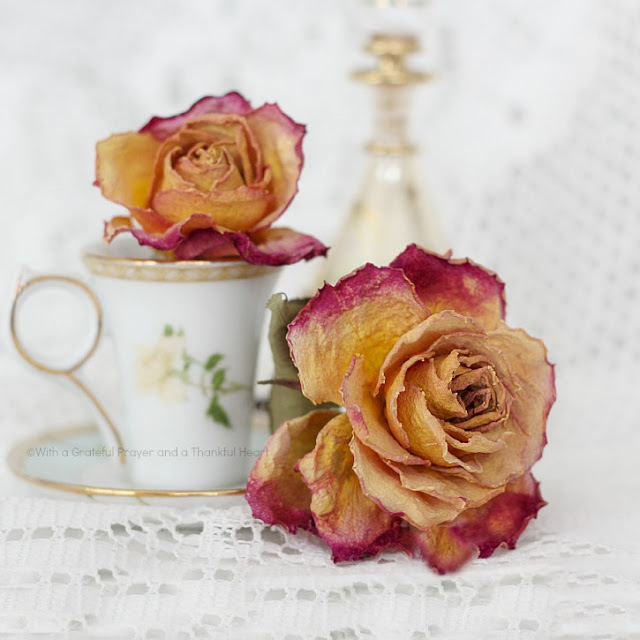 There's nothing lovelier than fresh cut flowers gracing your table or brightening a place in your home. But even after the blossoms begin to fade, you can continue to enjoy their beauty by drying them. This how to dry roses technique couldn't be easier. Use for crafts projects, embellishing gift packages and food gifts.