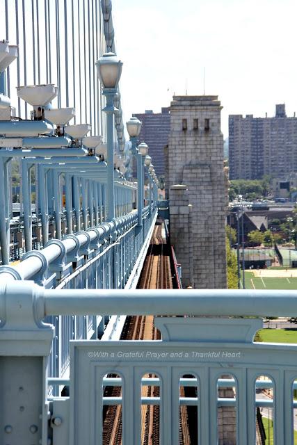 Walking the Philadelphia Camden Ben Franklin Bridge