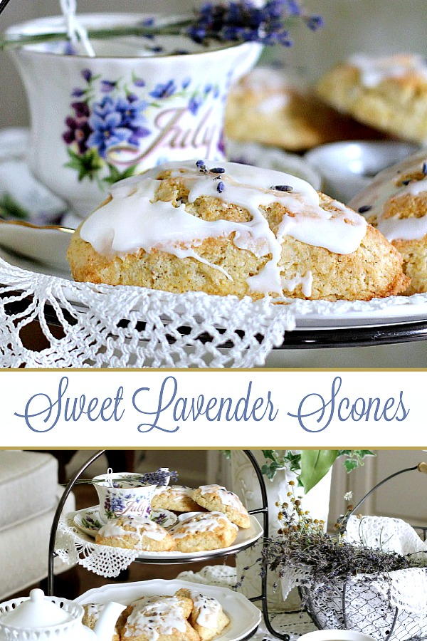 Just a hint of lavender gives these scones and lovely, unique flavor. Delightful for a tea party or breakfast treat using purchased or lavender from the herb garden and an easy recipe.