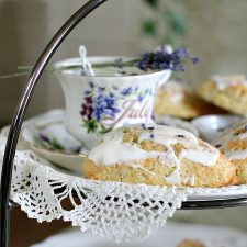 Sweet Lavender Scones in the Parlor