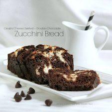 Cream Cheese Chocolate Zucchini Bread