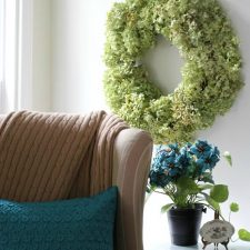 How I Dry Hydrangea Blossoms