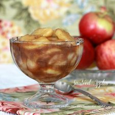 Sauteed Apples is a Perfect Side