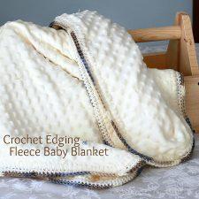 Crochet Edge Baby Blanket